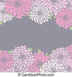 crisantemo, plano de fondo