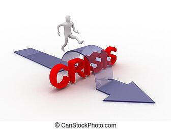 crise, concept