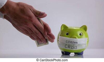 crise, coronavirus, concept.