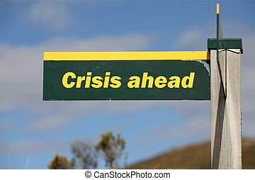 crise, devant
