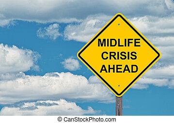 crise, devant, midlife