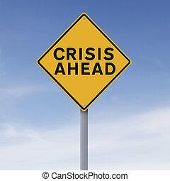 crisi, avanti