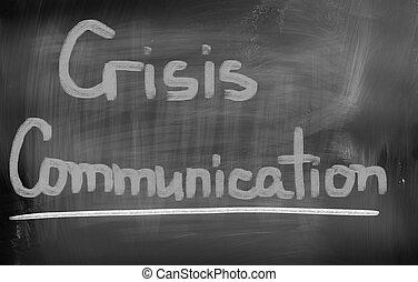 Crisis Communication Concept