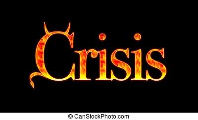 Crisis - Devil crisis.