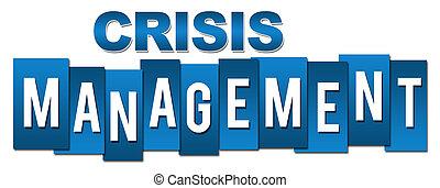 Crisis Management Professional Blue Stripes