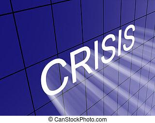 crisis on wall