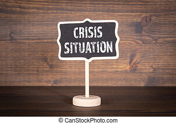 crisis, propageren, noodgeval, virus, situation., quarantaine, concept