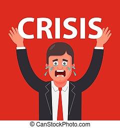 crisis., se stesso, pressione, persona, tremendo, because, esperienze