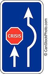 Crisis signal vector