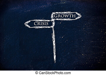 crisis vs growth, which is the right direction?