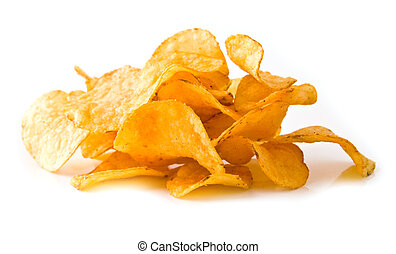 crisp on a white background