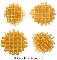 Crisp waffles