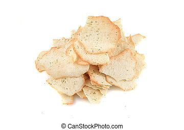 Crispy baked chips