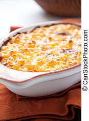 macaroni and cheese - crispy, creamy, and cheesy macaroni...