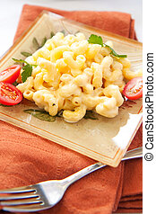macaroni and cheese - crispy, creamy, and cheesy macaroni ...