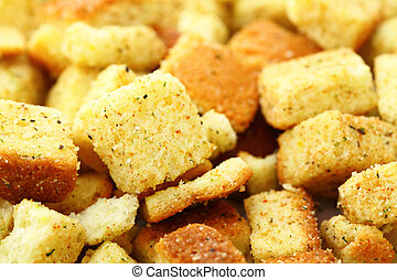 Crispy crouton