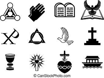 cristão, ícones