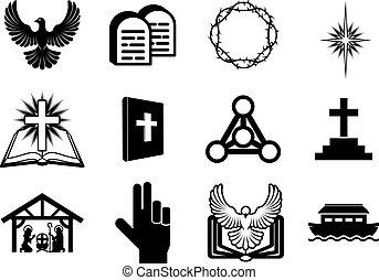 cristão, ícones religiosos