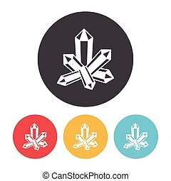 cristal, ícone