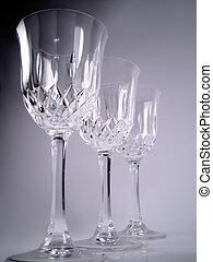 cristal, óculos
