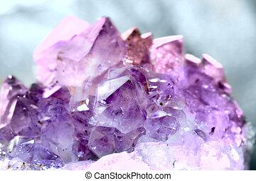 cristal, ametista, pedra preciosa