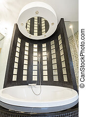 Cristal bathtub with shower - Cristal luxury bathtub with...