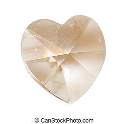 cristal, corazón