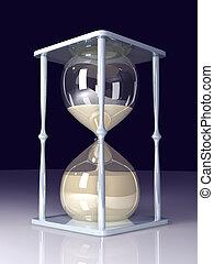 cristal de la hora