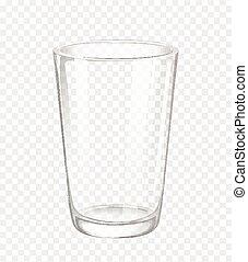 cristal del agua, sin, agua