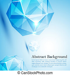 cristal, empresa / negocio, prism., ilustración, vector,...