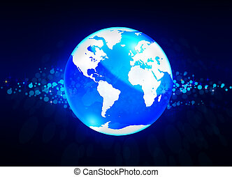 cristal, globe