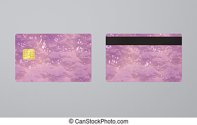 cristal, ic, tarjeta