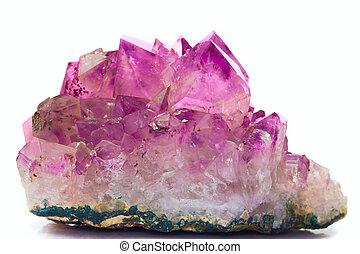 cristal, pedra preciosa, ametista