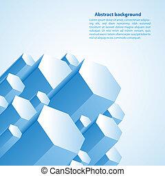 Cristal prism. Vector illustration for your business presentation