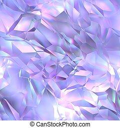 cristal, seamless, textura