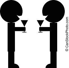 cristales del tintineo, vino