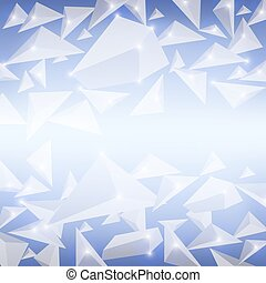 cristallo blu, modello