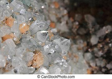 cristallo, fondo, quarzo