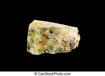 cristallo, formazione, wavelite