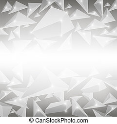 cristallo, pattern., grigio