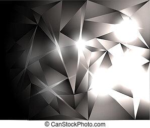cristaux, clair
