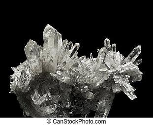 cristaux, quartz