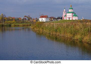 cristianismo, iglesia, de, s., elias, en, rusia, suzdal