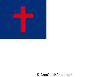 cristiano, bandera