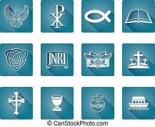 cristiano, iconos