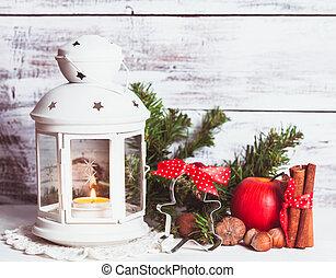 cristmas, φανάρι