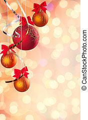 cristmas, achtergrond, feestelijk