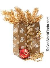 cristmas, cadeau, verpakken