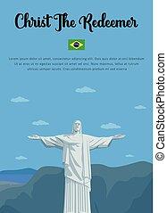 cristo redentor, en, brasil