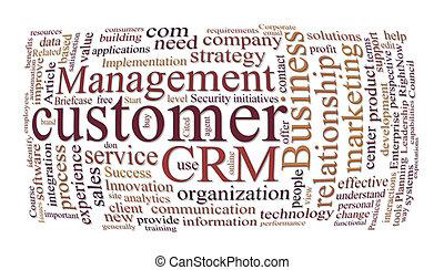 crm, dirección, relaciones de cliente